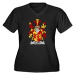 Clary Family Crest Plus Size T-Shirt