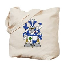 Coey Family Crest Tote Bag