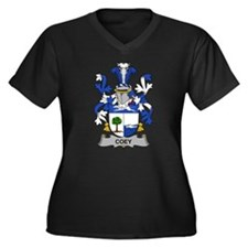 Coey Family Crest Plus Size T-Shirt