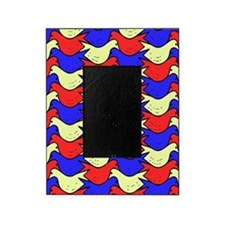 Red, Yellow and Blue Birds Picture Frame