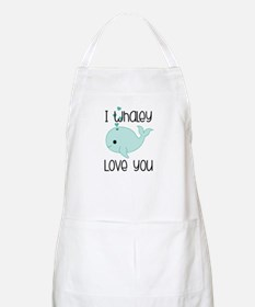 Whaley Love You (2) Apron