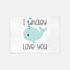 Whaley Love You (2) 5'x7'Area Rug