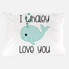 Whaley Love You (2) Pillow Case