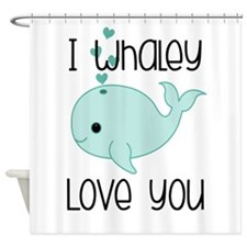 Whaley Love You (2) Shower Curtain