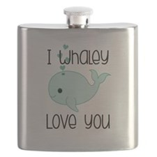 Whaley Love You (2) Flask