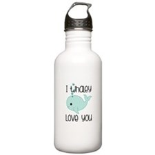 Whaley Love You (2) Water Bottle