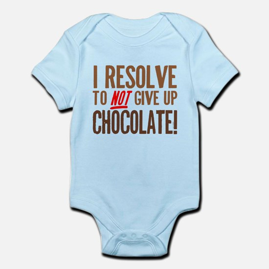 Chocolate Resolution Infant Bodysuit