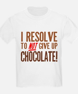 Chocolate Resolution T-Shirt