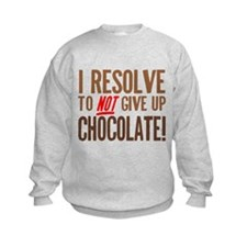 Chocolate Resolution Sweatshirt