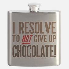 Chocolate Resolution Flask