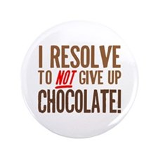 "Chocolate Resolution 3.5"" Button"