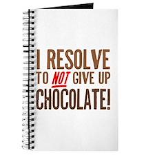 Chocolate Resolution Journal