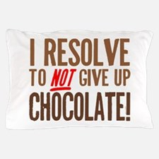 Chocolate Resolution Pillow Case