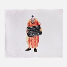 Schlitze The Pinhead Throw Blanket