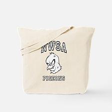 NWSA BW Pigeons Tote Bag