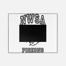 NWSA BW Pigeons Picture Frame