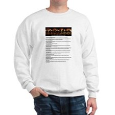 Forbidden Library Censorship Quotes Sweater