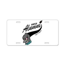 Alumni Athletic Swoosh Aluminum License Plate