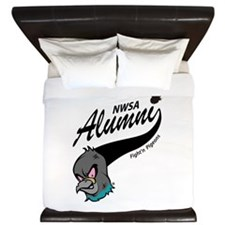 Alumni Athletic Swoosh King Duvet
