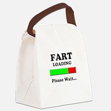 Fart Loading Please Wait Canvas Lunch Bag