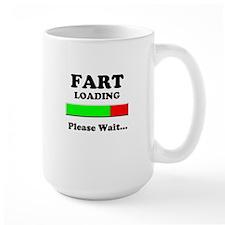 Fart Loading Please Wait Mug