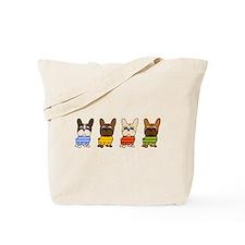 Dressed Lineup Tote Bag