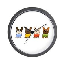Dressed Lineup Wall Clock