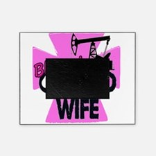 Pink Blessed Oilfield Wife With Cross Picture Frame