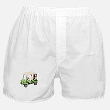 Golf Cart Boxer Shorts
