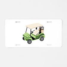 Golf Cart Aluminum License Plate