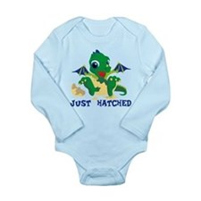 Baby Dragon Long Sleeve Infant Bodysuit