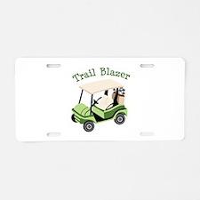 Trail Blazer Aluminum License Plate