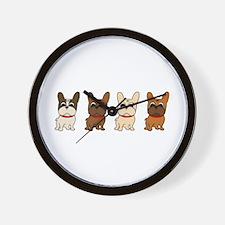 Naked Lineup Wall Clock