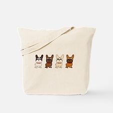 Naked Lineup Tote Bag