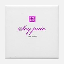 Puta / Friendly Tile Coaster