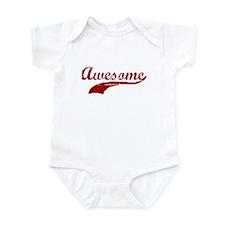 AWESOME SHIRT AWESOME T-SHIRT Infant Bodysuit