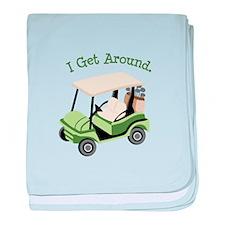 I Get Around baby blanket