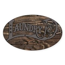 Laundry 15 cents Decal