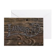 Laundry 15 cents Greeting Card