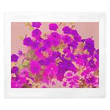 Purple floral King Duvet Covers