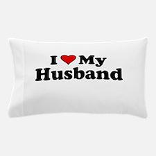 I Heart My Husband Pillow Case