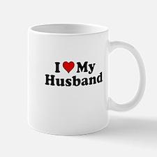 I Heart My Husband Mugs
