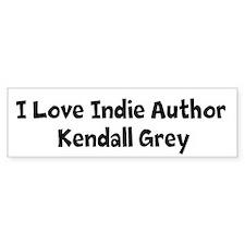 I Love Kendall Bumper Bumper Sticker