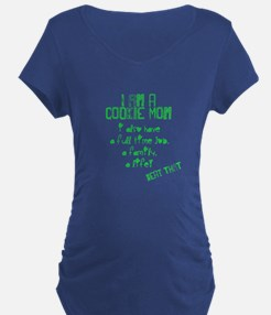 Cookie Mom Maternity T-Shirt