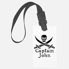 Captain John Luggage Tag