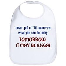 Illegal Tomorrow Bib