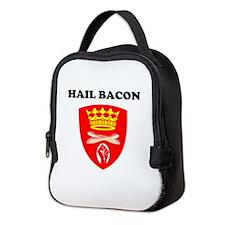 Hail Bacon Neoprene Lunch Bag