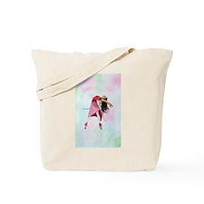 Pink Ballerina Tote Bag