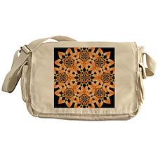 Floral Flare Messenger Bag