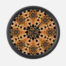 Floral Flare Large Wall Clock